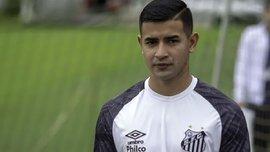 Дерлис Гонсалес был удален в матче Сантоса против Гремио