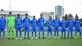 Сборная Украины U-16 разбомбила Фиджи в стартовом матче Кубка развития УЕФА
