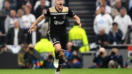Ван де Беек – о победе над Тоттенхэмом: Аякс может сыграть еще лучше