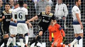 Ван де Беек эффектно пропустил мяч и едва не завершил атаку голом – финт дня в Лиге чемпионов