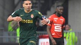 Монако благодаря дублю Фалькао совершил впечатляющий камбэк в матче с Ренном и отправил Генгам в низший дивизион