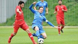 Збірна України U-18 мінімально поступилась Туреччині у спарингу