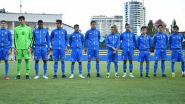 Сборная Украины U-16 победила Ирландию в заключительном матче Кубка развития УЕФА