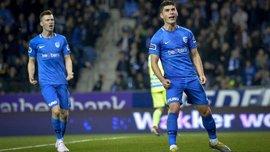 Гол Малиновского в видеообзоре матча Генк – Антверпен – 4:0