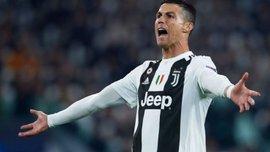 Роналду поднялся на второе место в рейтинге бомбардиров Серии А – португалец уступает только итальянском ветерану