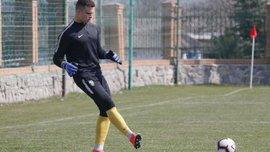 Голкипер Александрии U-19 забил роскошный гол со своей половины поля в матче с Динамо