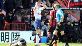 Два вилучення і гол, який може коштувати Тоттенхему Ліги чемпіонів, у відеоогляді матчу з Борнмутом – 0:1