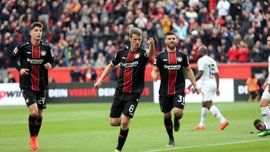 Байєр вдома знищив Айнтрахт, забивши шість голів за півгодини: 32-й тур Бундесліги, матчі неділі