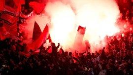 "Аякс – Тоттенхэм: фанаты амстердамцев устроили ночное пирошоу возле гостиницы ""шпор"""