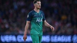 Тоттенхэм – Ливерпуль: Вертонген рискует не сыграть в финале Лиги чемпионов