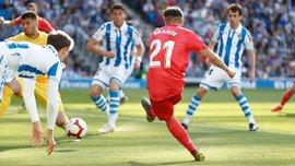 """Несподівана поразка """"вершкових"""" у відеоогляді матчу Реал Сосьєдад – Реал – 3:1"""