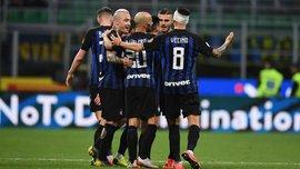 Интер не без проблем победил Кьево, Болонья на своем поле разгромила Парму