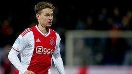 Де Йонг признан лучшим игроком чемпионата Нидерландов – летом он присоединится к Барселоне