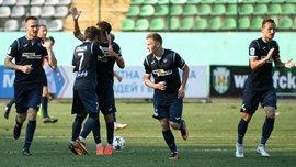 Олимпик дома победил Черноморец, покинув зону переходных матчей