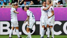 Женская Лига чемпионов: Лион в финале разгромил Барселону