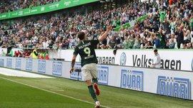Хет-трик Вегорста у надрезультативному матчі Вольфсбург – Аугсбург – 8:1