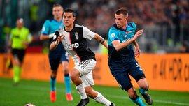 Аталанта удержала ничью с Ювентусом и вернулась в зону Лиги чемпионов, Наполи разгромил Интер