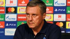 Хацкевич: В Динамо полкоманды игроков, которые еще должны играть в дубле