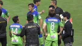 Арбітр у Японії не зарахував чистий гол, який бачили всі – відео грубої помилки