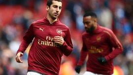 Игроки Арсенала поддержали Мхитаряна, который не сыграет в финале Лиги Европы по политическим причинам