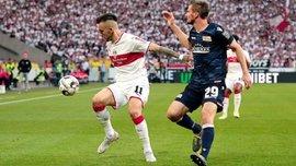 Штутгарт та Уніон Берлін не визначили сильнішого у першому матчі плей-офф за місце у Бундеслізі