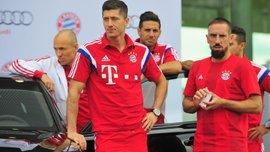 Лєвандовскі присвятив перемогу Баварії в Кубку Німеччини Рібері, Роббену та Рафіньї