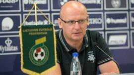 Тренер сборной Литвы объяснил главную проблему команды, которая является соперником Украины в отборе на Евро-2020