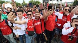 """""""Арсенал любит тебя больше, чем тебе кажется"""", – фанаты """"канониров"""" спели для Мхитаряна перед финалом Лиги Европы"""