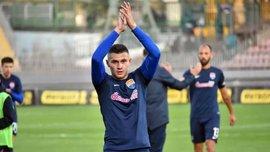 Зубков забил эффектный гол в стиле Суареса в ворота Зари