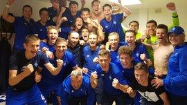 Динамо U-19 стало чемпионом Украины – во время празднования киевляне потроллили Шахтер в его фирменном стиле