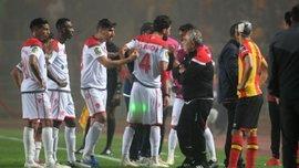 Скандал у фіналі африканської ЛЧ – команда покинула поле на 59-ій хвилині через відмову арбітра дивитися відеоповтор