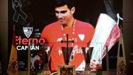 В Севилье попрощались с погибшим Рейесом: игрока в последний путь провели Рамос, Мончи, Перес и другие звезды