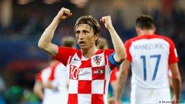 Модрич в седьмой раз стал игроком года в Хорватии