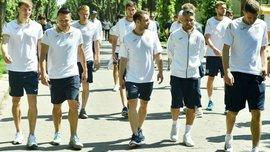 """Україна – Сербія: вболівальники організували живий коридор для """"синьо-жовтих"""""""