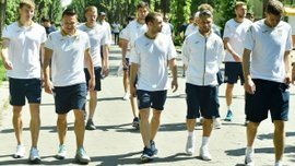"""Украина – Сербия: болельщики организовали живой коридор для """"сине-желтых"""""""