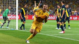 Ровно 7 лет назад Шевченко отметился дублем в воротах Швеции на Евро-2012 – ретро дня