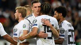 Німецькі голи на будь-який смак у відеоогляді розгромної перемоги над Естонією
