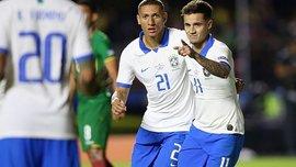 Бразилия – Боливия – 3:0 – видео голов и обзор матча