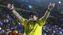 Марадона покинув Дорадос через серйозні проблеми зі здоров'ям