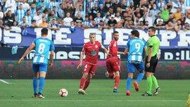 Малага без Селезньова програла Депортіво та вибула з боротьби за вихід у Ла Лігу
