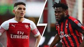Арсенал та Мілан можуть здійснити обмін півзахисниками