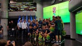 Гравці збірної України U-20 отримали звання майстрів спорту міжнародного класу за перемогу на ЧС-2019