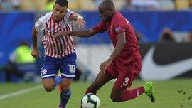 Гол Дерліса Гонсалеса у відеоогляді матчу Парагвай – Катар