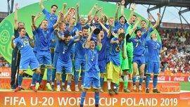 Вратарь Динамо и другие игроки сборной Украины U-20 подарили фанатам свои билеты на финал ЧМ-2019 – красивый жест