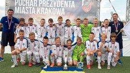 Дитяча команда Динамо здобула перемогу на міжнародному турнірі в Польщі – на шляху до тріумфу був обіграний МЮ