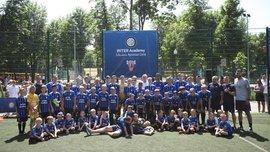 Интер открыл футбольную академию в Украине – экс-звезда миланцев присутствовал на церемонии