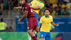 Бразилия – Венесуэла – 0:0 – видеообзор матча