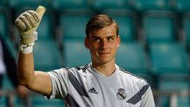 """Реал поздравил Лунина с победой на молодежном чемпионате мира и завоеванием """"золотой перчатки"""""""