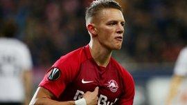 Игрок сборной Австрии U-21 Вольф получил ужасный перелом ноги в матче с Сербией – жуткий кадр