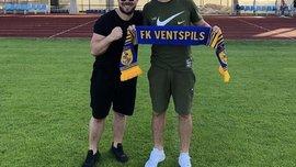 Махновський покинув Олімпік та перейшов у Вентспілс